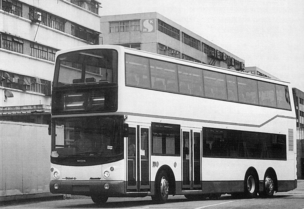 Trident最初是採用九巴空調巴士的標準白色車身,到某天為了加深公眾印象,才全輛改髤金色。