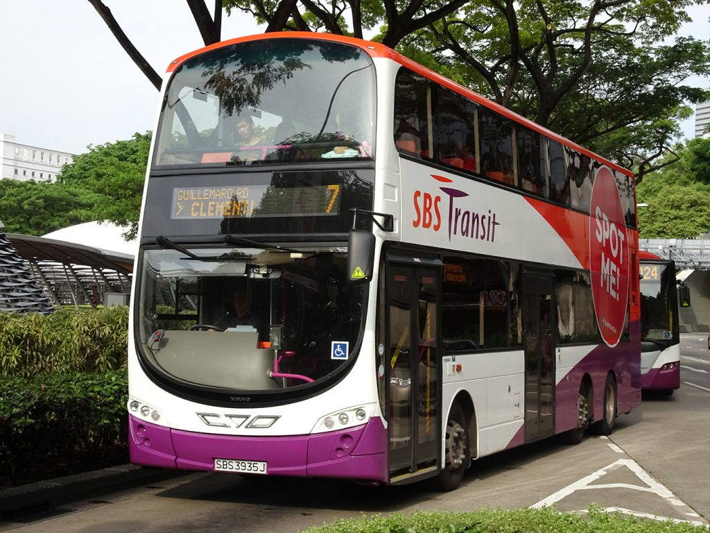 SBS Transit Volvo B9TL Wright Body SBS3935J 攝影:Kevin Wong