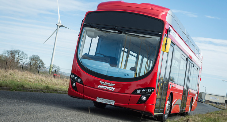 10.6米的StreetAir EV,依倫敦標準建造,準備於倫敦測試。