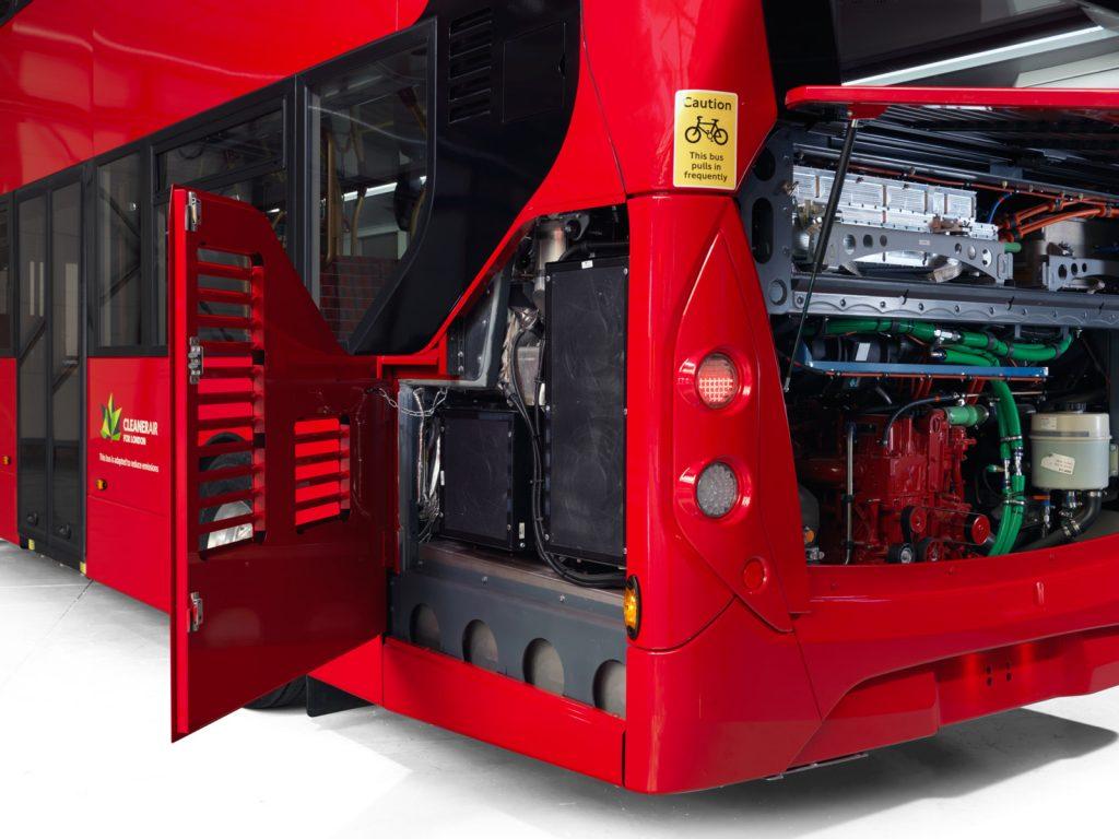 ADL Enviro400H City 動力組件