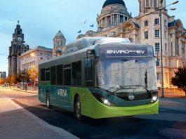 ADL及BYD為利物浦地區提供全電動的巴士