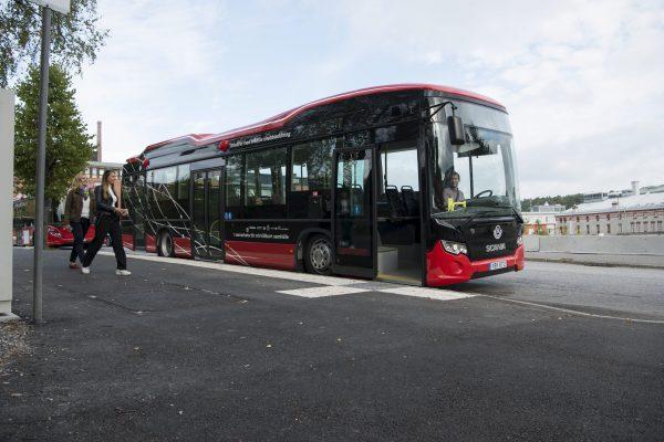 Sscaia無線充電巴士將行走SL 755路線