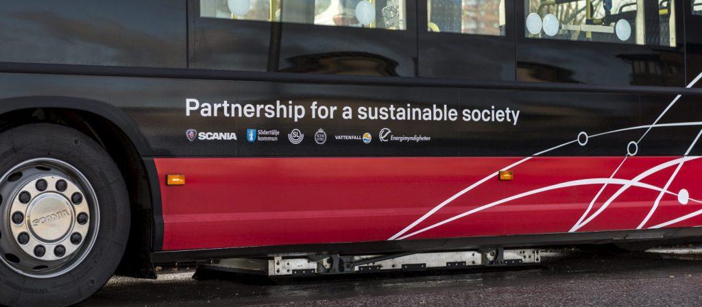 Scania於斯德哥爾摩測試無線充電技術