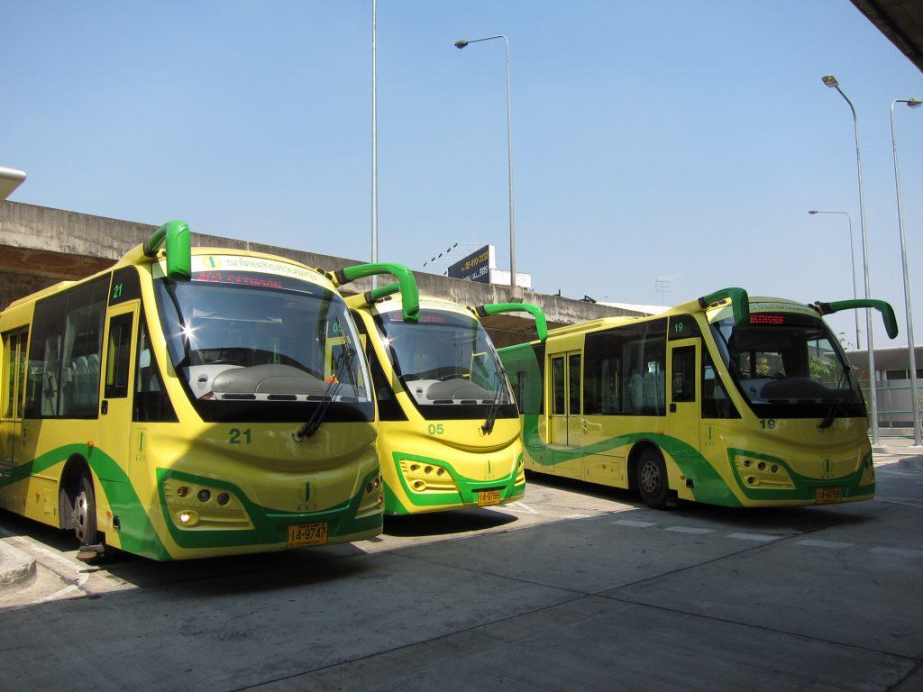 曼谷BRT採用上海申龍車輛