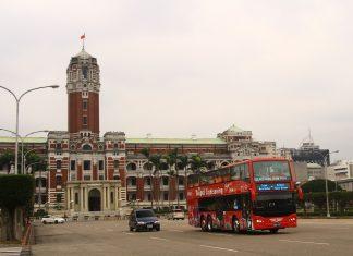 相隔27年,台北;市再現雙層巴士。
