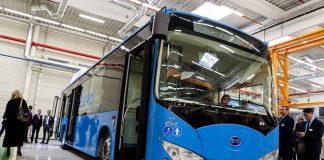 匈牙利的比亞迪廠房投入生產