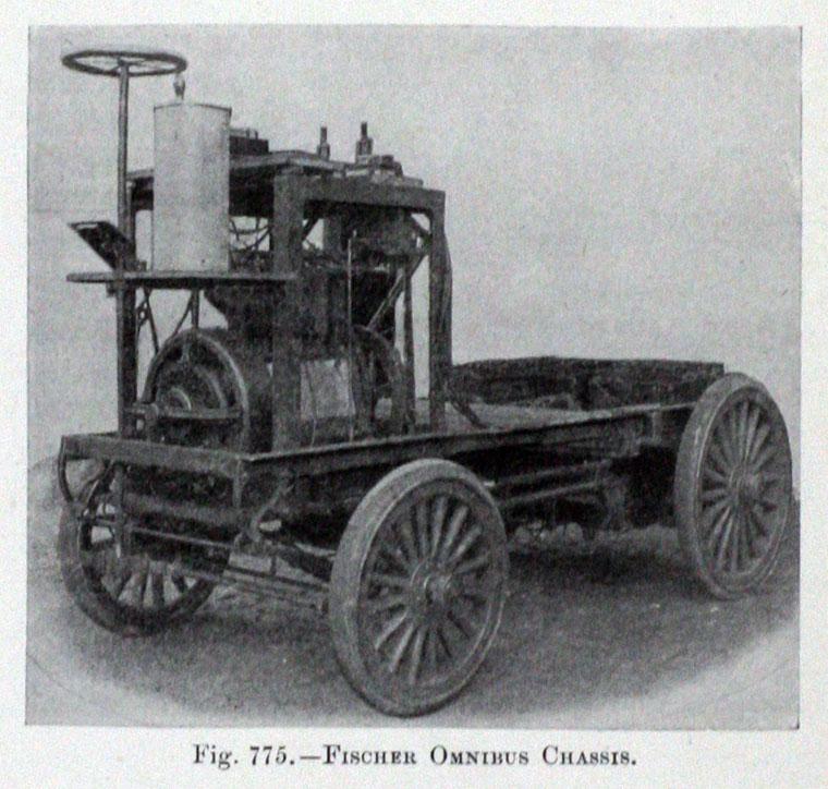 Fischer Petrol-Electric Omnibus 底盤