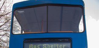 Stagecoach Bus Shelter
