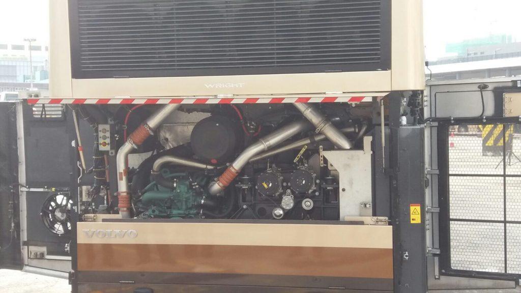 VOLVO B8L引擎提升至歐盟6型廢氣排放標準