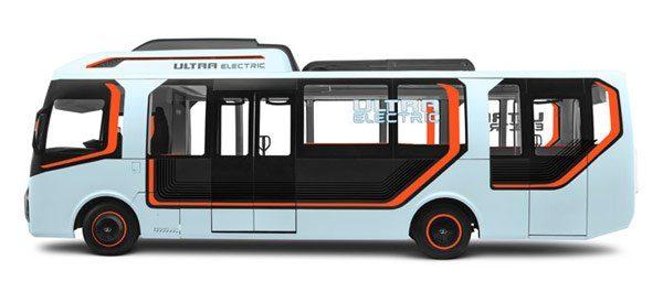 9米長的Tata Ultra ELECTRIC巴士可以容納31名乘客。