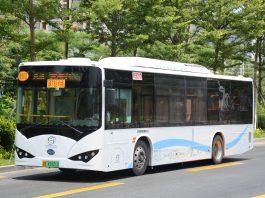 深圳巴士集團比亞迪K8電動巴士。
