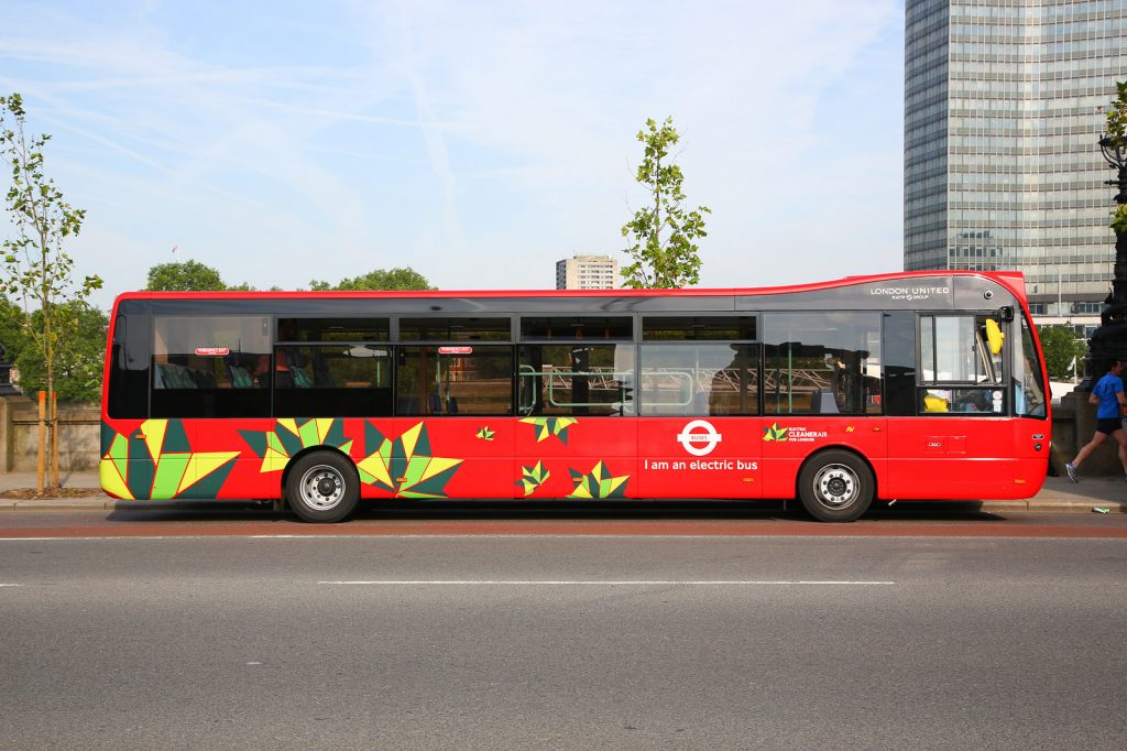 而到了2020年,在倫敦市中心營運的所有300輛單層巴士都將達到零排放。