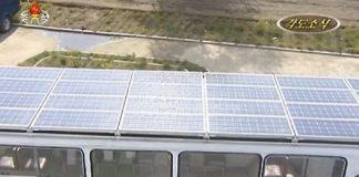 North Korea introduces solar powered buses