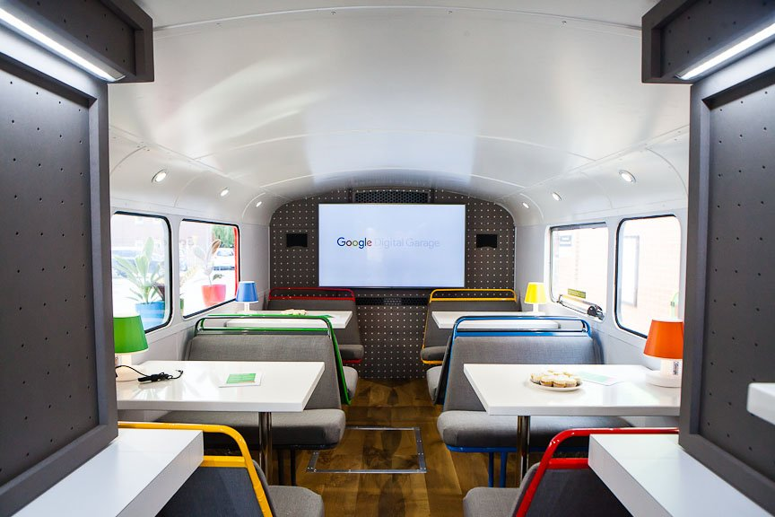 Google Digital Garage Routemaster 下層