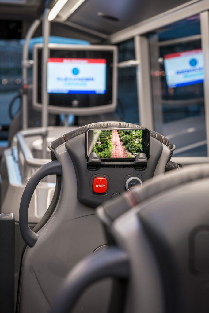 WiFi及多媒體報站系統為乘客提供乘車訊息。