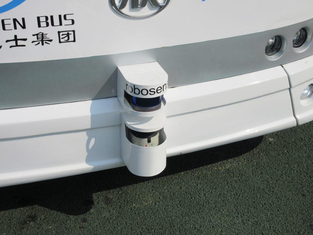 車頭與車輛均裝設偵測雷達,可偵測90米內範圍任何障礙物