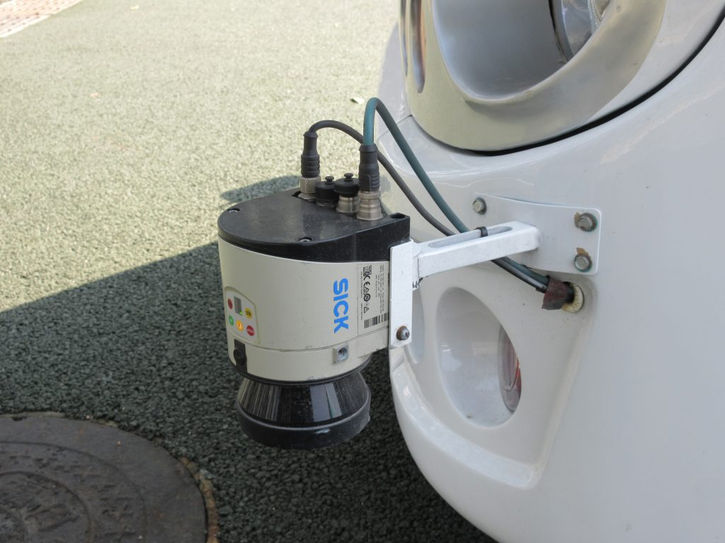 東風的車頭偵測雷達