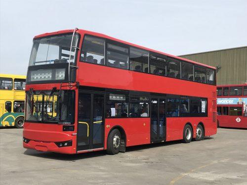 巴士由中國BCI製造,Ensign引入英國,