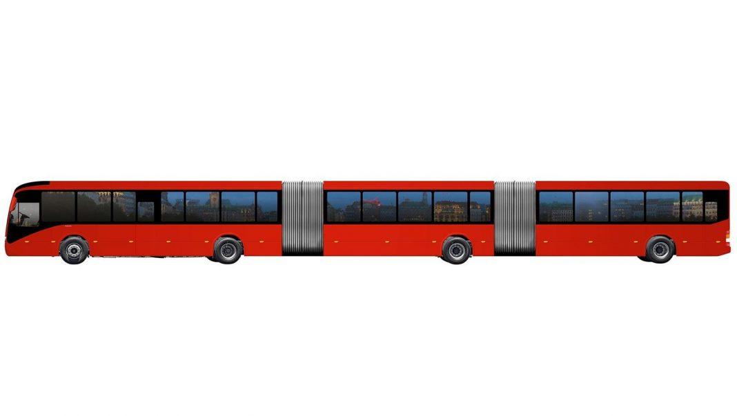 VOLVO longest bus