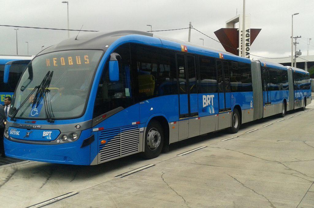 VOLVO為巴西里約熱內盧BRT系統提供車輛。