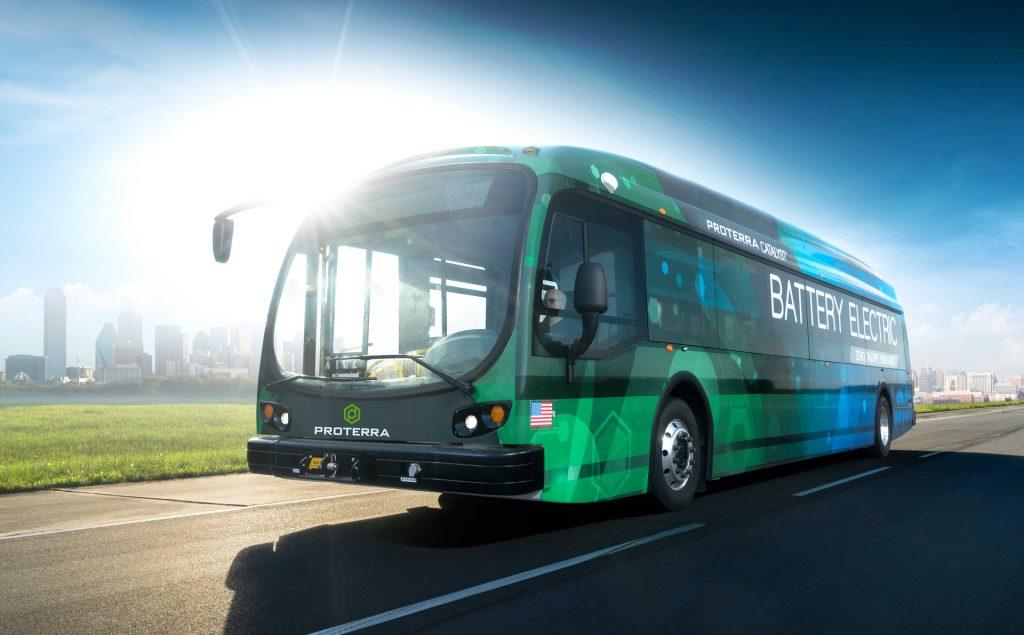 Proterra在北美電力公共交通市場佔有60%的市場份額。