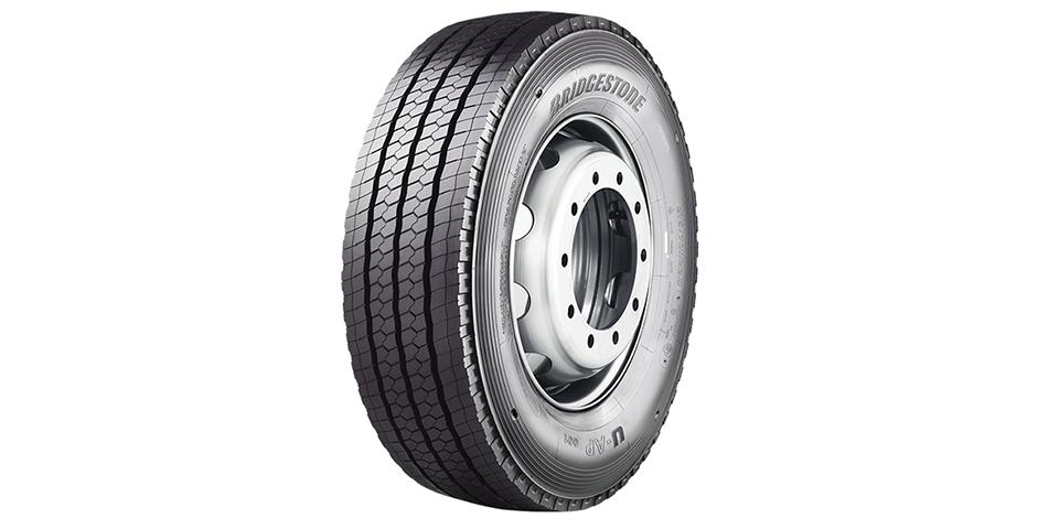 石橋將供應UAP-001輪胎,該款輪胎具有針對不同市場獨特的不同胎面花紋。