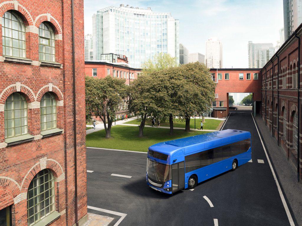 Volvo BZL Electric 單層巴士