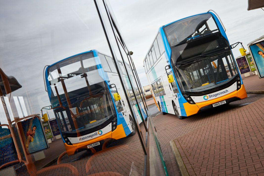 Stagecoach local bus services